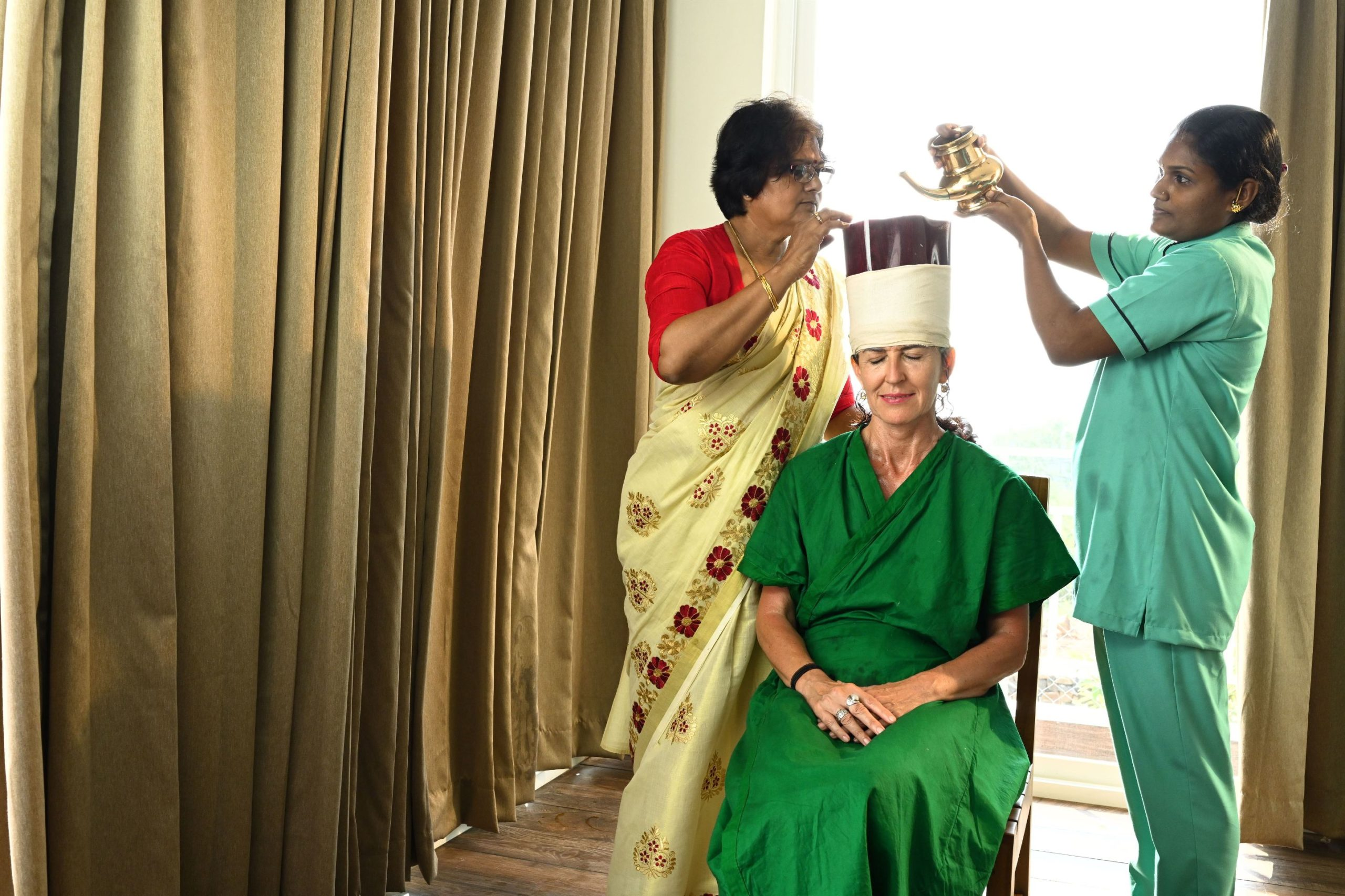 Shirodhara Ayurveda treatment in Kerala